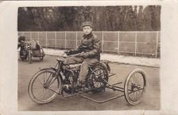 CARTE PHOTO DE MOTO SUPERBE(lot24) - Motorbikes