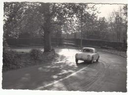 AUTO CAR VOITURE FIAT 750 ABARTH ZAGATO? COLLINA DI TORINO - FOTO ORIGINALE ANNI 60 - Automobili