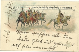 Illustrated Postal Stationary 1896 Horses, Army - Hongarije