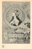 ILLUSTRATEUR STYLE ART NOUVEAU LES SAINTES SAINTE  ROSE  EDITION H.L. PARIS - Illustratori & Fotografie