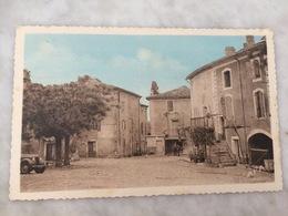 Rivières De Theyrargues - CP Animée - La Place De L'Eglise - Frankreich