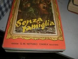 LIBRO SENZA FAMIGLIA 1955 -EDIZIONI G.M NETTUNO OMNIA - Klassiekers