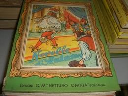 LIBRO NOVELLE DI ANDERSEN 1954 -EDIZIONI G.M NETTUNO OMNIA - Klassiekers