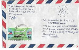 Philippines 1975 First Trans-Pacific China Clipper Airmail Flight San Francis Airmail Cover To Hong Kong - Filipinas