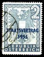 ÖSTERREICH 1955 Nr 1017 Gestempelt X280D8E - 1945-.... 2. Republik