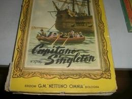 LIBRO CAPITANO SINGLETON-EDIZIONI G.M OMNIA NETTUNO - Libri, Riviste, Fumetti
