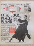 Journal Libération (22 Janv 1993) La Haute Cour - Dépoussièrage Bas Salaires - Refugiés - Blancs Et Communards/Louis XVI - Zeitungen