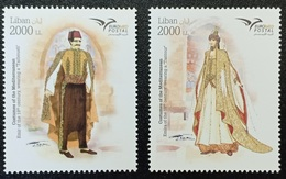 Lebanon NEW 2019 MNH Set - Euromed Joint Issue, Traditional Costumes - Libanon