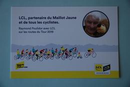 CYCLISME: CYCLISTE : RAYMOND POULIDOR TOUR DE FRANCE 2019 - Wielrennen
