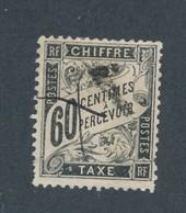 FRANCE - TAXE N°YT 21 OBLITERE - 1884 - COTE YT : 65€ - 1859-1955 Oblitérés