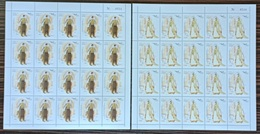 Lebanon NEW 2019 MNH Set - Euromed Joint Issue, Traditional Costumes - FULL SHEET - Libanon
