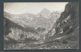 CPA Carte PHOTO AMATEUR - SIXT FER A CHEVAL -74 - Vue De La Vallée - Sixt-Fer-à-Cheval