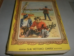 LIBRO IL NAUFRAGIO -EDIZIONI G.M OMNIA NETTUNO 1954-ILLUSTRAZIONE SGRILLI - Klassiekers
