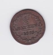 1/2 Batzen 1815 Canton D'Aargau   TTB - Suiza