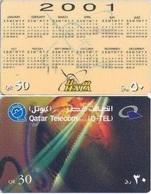 Qatar Hala Phone Card, Calendar & Advert (50 & 30 Rls.) - Qatar