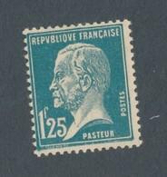 FRANCE - N°YT 180 NEUF* AVEC CHARNIERE - 1923/26 - COTE YT : 31€ - 1922-26 Pasteur