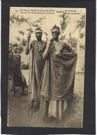 CPA Ruanda Afrique Noire Musinga Le Roi Royalty Voir Scan Du Dos Entier Postal Surchargé Belgique Allemagne - Rwanda