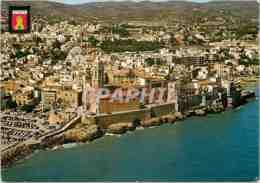 CPM Sitges Flaya De Cro Vue Aerienne Quartier Maricel - Barcelona