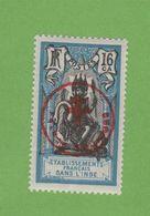 """Faux Inde N° 230H 16 Ca Surchargé """"FRANCE TOUJOURS"""" Gomme Charnière - Inde (1892-1954)"""