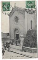 CPA 12 Toulon Temple Protestant Moyenne état , Voir Scan - Toulon