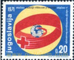 Croix Rouge - Yougoslavie - 1971 - Neufs