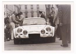 "AUTOMOBILE  RENAULT  "" ALPINE "" - RALLY  -CAR -  FOTOGRAFIA ORIGINALE - Automobili"