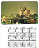 France Notre-dame De Paris Monument Calendrier Calendar TBE - Paysages
