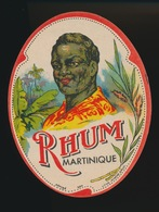 RHUM MARTINIQUE  12 X 9 CM - Rhum