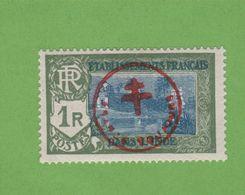 """Faux Inde N° 230T 1 R Surchargé """"FRANCE TOUJOURS"""" Gomme Charnière - Inde (1892-1954)"""