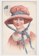 MF111 - Jolie Illustration De MARTIN KAVEL  - Sourire De Paris - Femme Frau Lady - Illustrateurs & Photographes