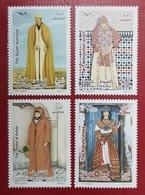ALGERIE ALGERIA 2019 EUROMED POSTAL JOINT ISSUE - MEDITERRANEAN COSTUMES TLEMCEN KABYLE AURES SOUTH - FULL SET MNH - Kostüme