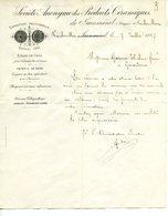 Poterie  Céramiques  D'horticulture  Jeanménil 1887 - Old Paper