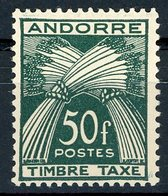 Andorre / Andorra Timbres Taxe 1946 - 1950 N° 40 Neufs Sans Charnières ** (MNH). TB. Cote 56€. - Neufs