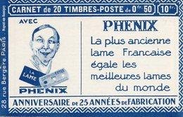 """Carnet """"Pnénix"""" ++ (variété Constante) - Definitives"""