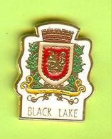 Pin's Ville Du Québec Black Lake - 6FF30 - Villes
