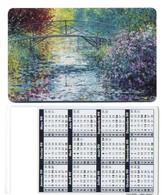 Peintre MONET Pont Japonais Peinture Calendrier France Calendar - Landschappen