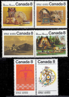 CANADA - Indiens Des Plaines - 1952-.... Regno Di Elizabeth II