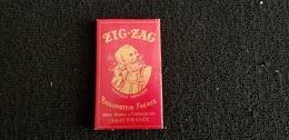 Pochette Publicitaire Papier Feuilles A Cigarettes ZIG ZAG BRAUNSTEIN FRERES Usine GASSICOURT MANTES 78 France - Around Cigarettes