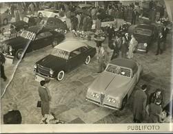 """4564 """" STAND PININ-FARINA - SALONE DELL'AUTO DI TORINO ANNI '50 """"ANIMATA-FOTO ORIGINALE - Automobili"""