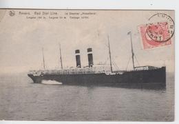 """ANVERS - Red Star Line - Le Steamer """" Kroonland """" - Non Classés"""