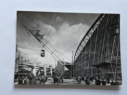 19A - Expo Universelle Bruxelles 1958 Epicarte Pavillon France Téléphérique - Expositions