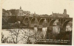 Albi; Vue Pont-Neuf Et La Vieille Ville - Non Voyagé. (F. Tranier- Poux, Albi) - Albi