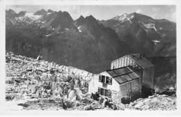 74 - CHAMONIX Mont Blanc : Refuge Albert 1er - CPSM Photo Noir Blanc Format CPA - Haute Savoie - Chamonix-Mont-Blanc