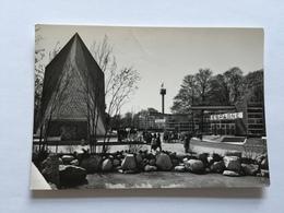 19A - Expo Universelle Bruxelles 1958 Epicarte Pavillon Espagne Grande Bretagne Et Vue Pavillon Suisse - Expositions