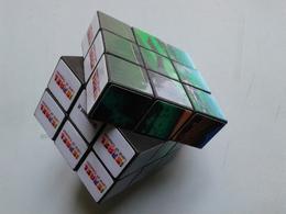 Alt1080 Rubik Cube Cubo Promotional Trave Adv Israel Israele Turismo Tourism Land Of Creation Gerusalem Tel Aviv - Pubblicitari