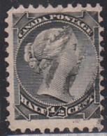 Canada 1870-1893 Used Sc 34 1/2c Victoria Small Queen - Oblitérés