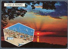 °°° Cartolina N. 103 Lido Di Fermo Vedutine Viaggiata °°° - Ascoli Piceno