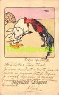 CPA ILLUSTRATEUR FERN PAQUES EASTER CARD ARTIST SIGNED FERN VAN HOECKE BRUXELLES - Illustrators & Photographers