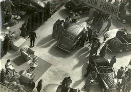 """4565 """" STAND PININ-FARINA - SALONE DELL'AUTO DI TORINO ANNI '50 """"ANIMATA-FOTO ORIGINALE - Automobili"""