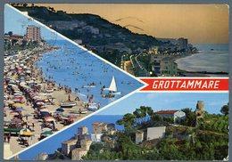 °°° Cartolina N. 104 Grottammare Vedutine Viaggiata °°° - Ascoli Piceno